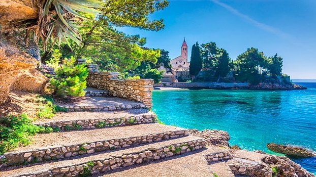 Croatie voyage famille Brac